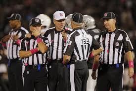 The Dumbest Officiating Crew in Football. Since at least 1999.